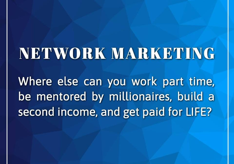 'Network Marketing' vs 'Direct Selling'